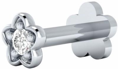 Demira Jewels 14kt Diamond White Gold Stud