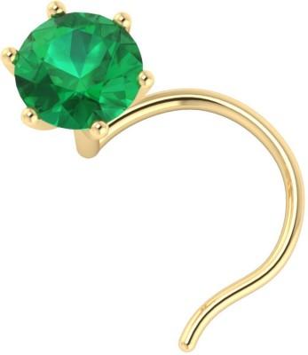 Demira Jewels Emerald Yellow Gold Ring