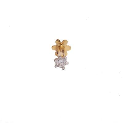 KUNDAN JEWELLERS PVT LTD Diamond Yellow Gold Stud