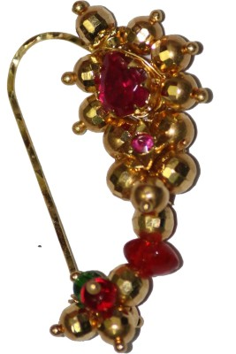 smj traditional 22K Yellow Gold Plated Gold Nose Ring