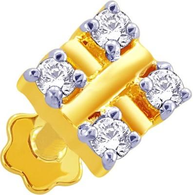 Karatcraft Beena Diamond Yellow Gold Nose Stud