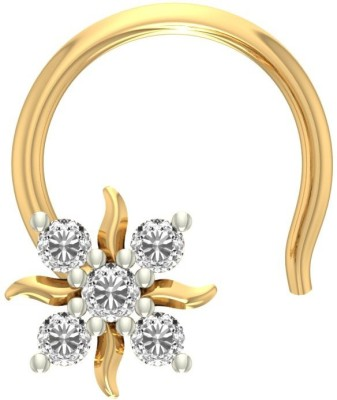 Jewels5 Cathie 18kt Diamond Yellow Gold Stud