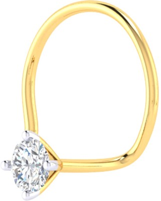 Cygnus Diamond Yellow Gold Stud