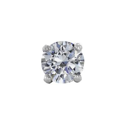 Kalyan Jewellers Single Stone Nosepin Diamond Yellow Gold Stud