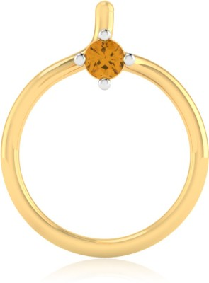 Iski Uski Elvira 14kt Sapphire Yellow Gold Stud