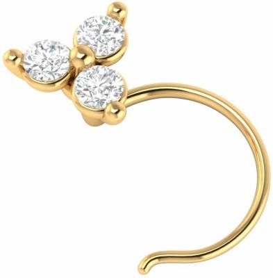 Demira Jewels Ladies Flower 14kt Diamond Yellow Gold Ring