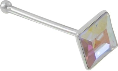 Star Silver Swarovski Crystal Sterling Silver Nose Ring