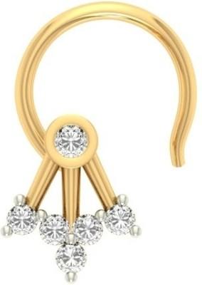 Jewels5 Hedera 18kt Diamond Yellow Gold Stud