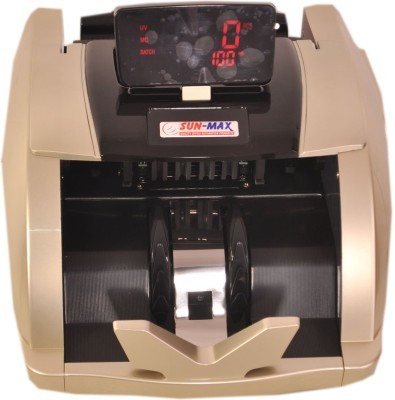 Sun-Max Fake Note Detections And Talking Functions Note Counting Machine