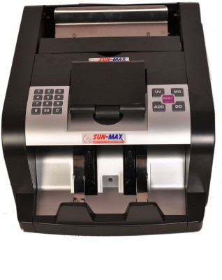 Sun-Max SC 700 Premium Fake Detections Note Counting Machine(Counting Speed - 1000 notes/min)