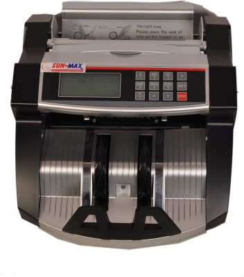 Sun-Max SC 800 LCD Color Change With Fake Detectors Note Counting Machine