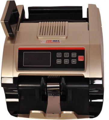 Sun-Max SC 600DX-G Talky With Fake Sensors Note Counting Machine