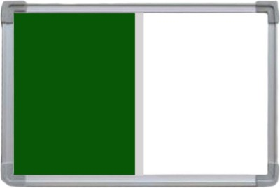Action World Green with white Notice Board(9.16 cm 6.14 cm)
