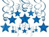 Amscan Bright Shooting Star Swirl Decora...