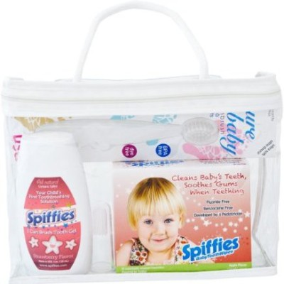 Spiffies Oh Baby Smiles Pack Toothwipes and I Can Brush Tooth Wipes(Multicolour)