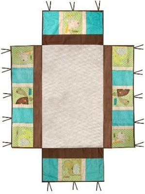 Summer Infant Giggle Gang Nursery Snug Wrap Rug(Multicolor)