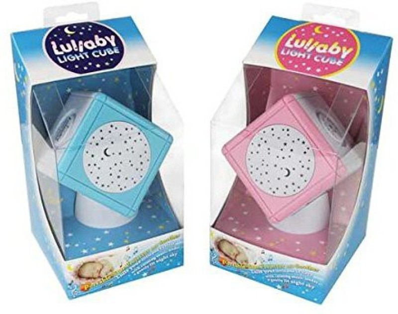 Lullaby Light Cube Star Projector with Touch Sensors Night Light(Multicolor)