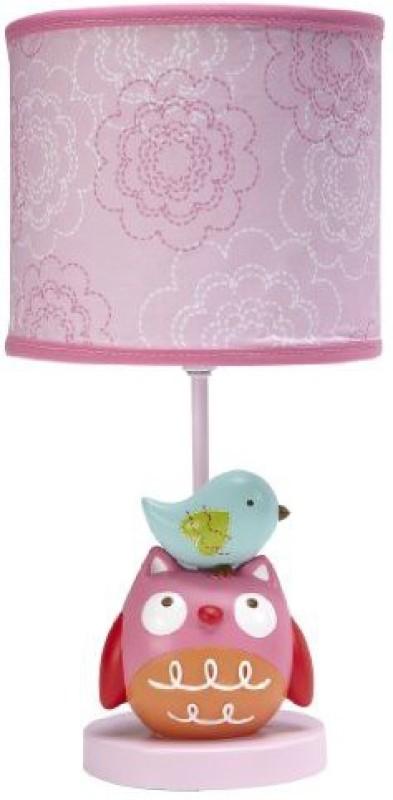 Nojo Love Birds Lamp and Shade Lamp(Pink)
