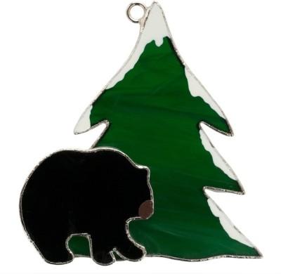 Switchables Black Bear Night Lamp(Green, Black)