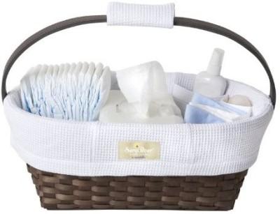 Munchkin Sarabear Portable Diaper Caddy Basket