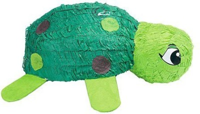 Shindigz Turtle Pinata Nursery Decor(Green)
