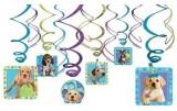 Puppy Party Amscan Hanging Swirl Decorat...
