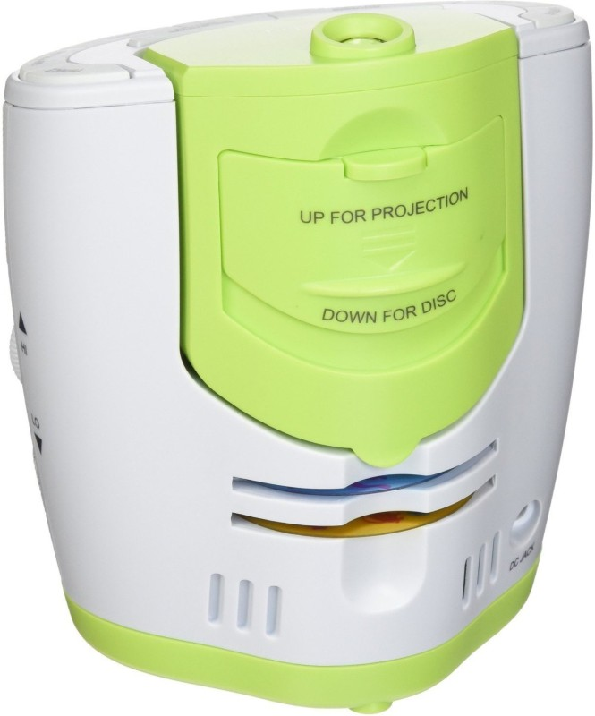 myBaby Soundspa Lullaby Sound Machine and Projector Sound Projector(White, Green)