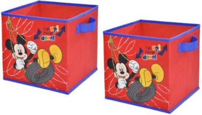 Disney Mickey Mouse Storage Cubes Storage Cubes(Multicolor)
