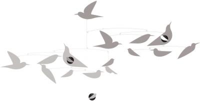 Djeco Mobile - Katsumi Komagata's White Birds Mobile(White, Blue)