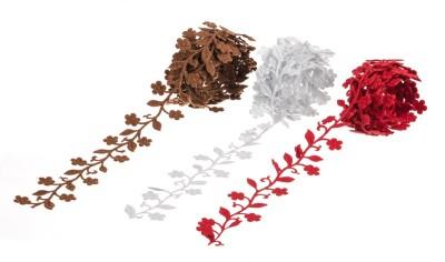 Wink Leaf Design Assorted Color Lace