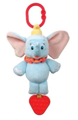 Disney Baby Dumbo Take Along Musical Toy Wind Chime(Multicolor)
