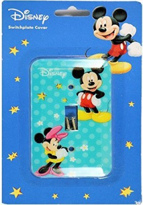 Disney Mickey Mouse Switch Plate Cover Plate Cover(Multicolor)