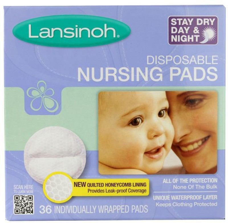 Lansinoh Disposable Nursing Pads - 36Pk Nursing Breast Pad(Pack of 36)
