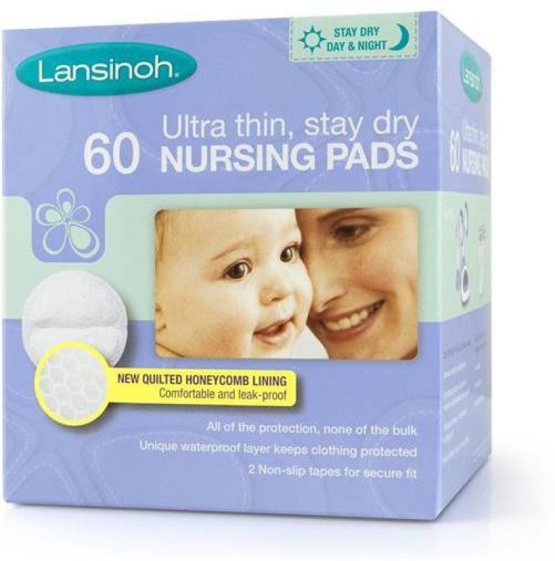 Lansinoh Disposable Nursing Pads - 60Pk Nursing Breast Pad(Pack of 60)