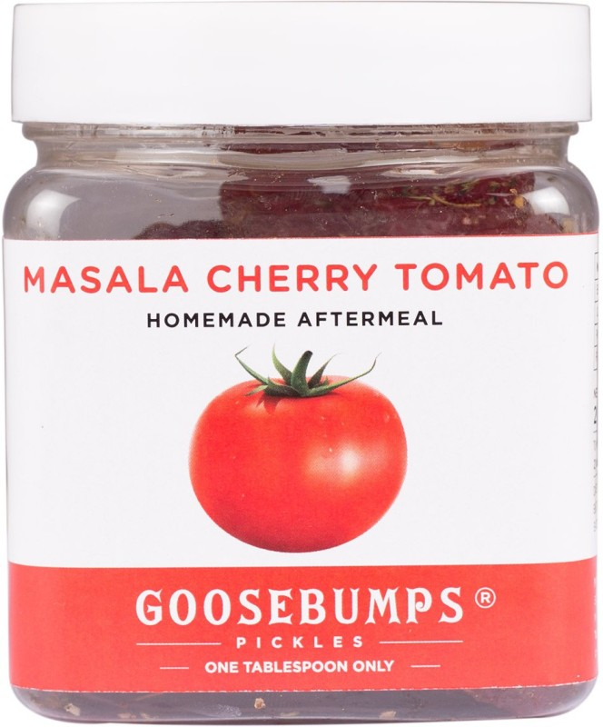 Goosebumps Pickles Homemade Cherry Tomatoes Aftermeal Sun Dried Tomatoes(250 g, Plastic Bottle)