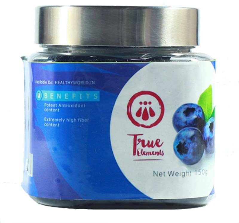 True Elements Tasty Blueberry(150 g, Plastic Bottle)