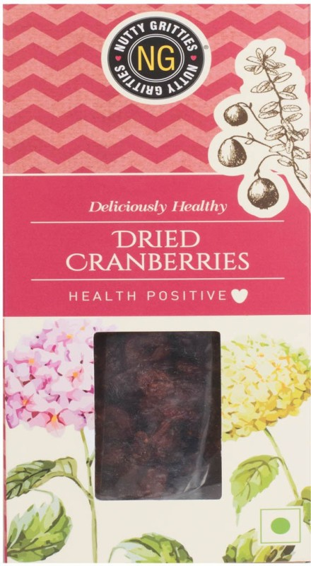 Nutty Gritties Dried Cranberries(200 g, Box)