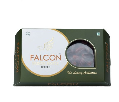 Falcon Fardh Seeded Dates(500 g, Box)