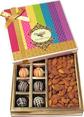 Chocholik Amazing Truffle, Dryfruit Treat Almonds(360 g, Box)