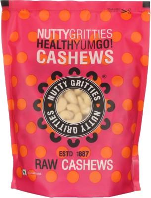 Nutty Gritties Premium Cashews(500 g, Pouch)