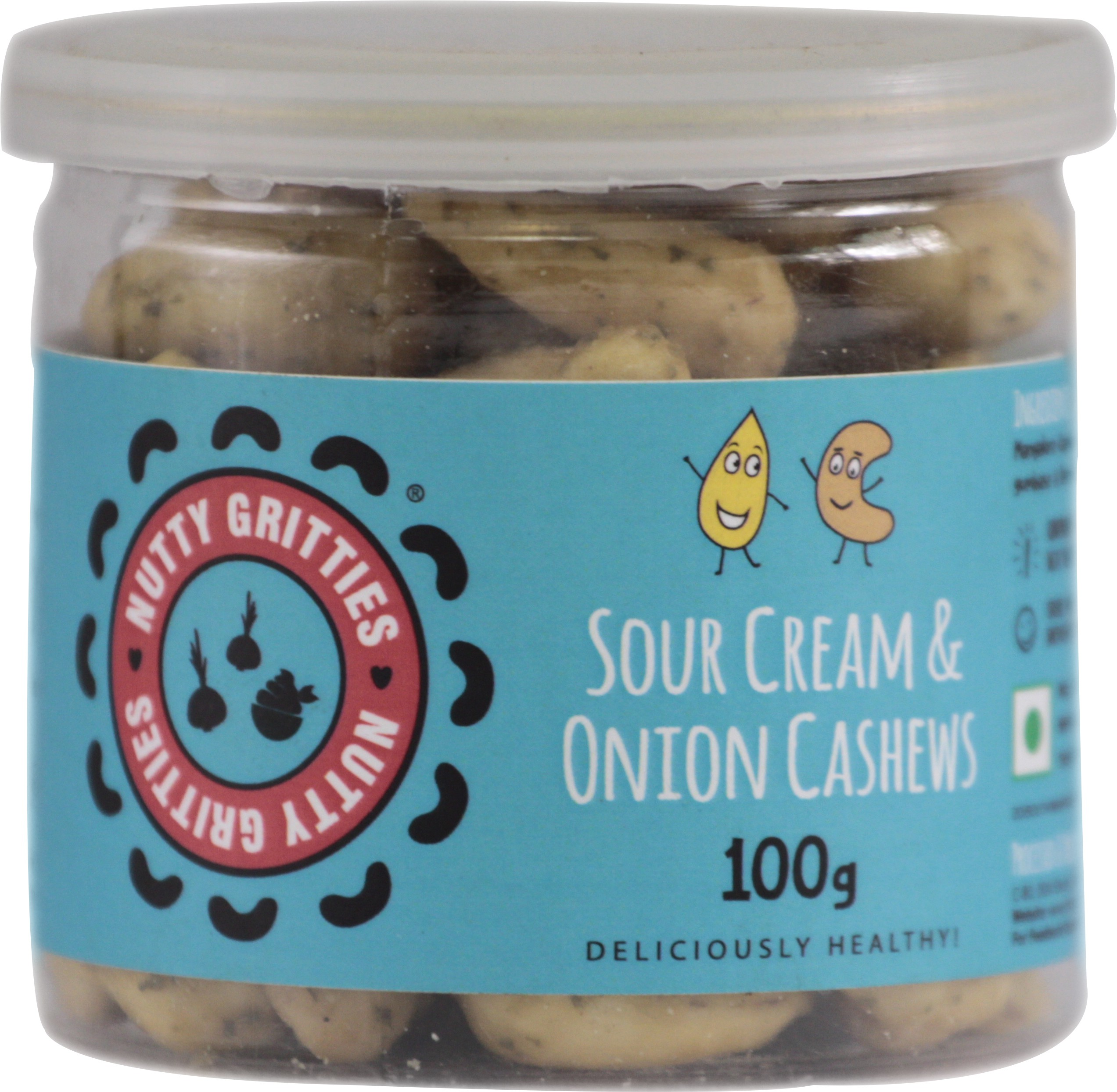 Nutty Gritties Sour Cream & Onion Cashews