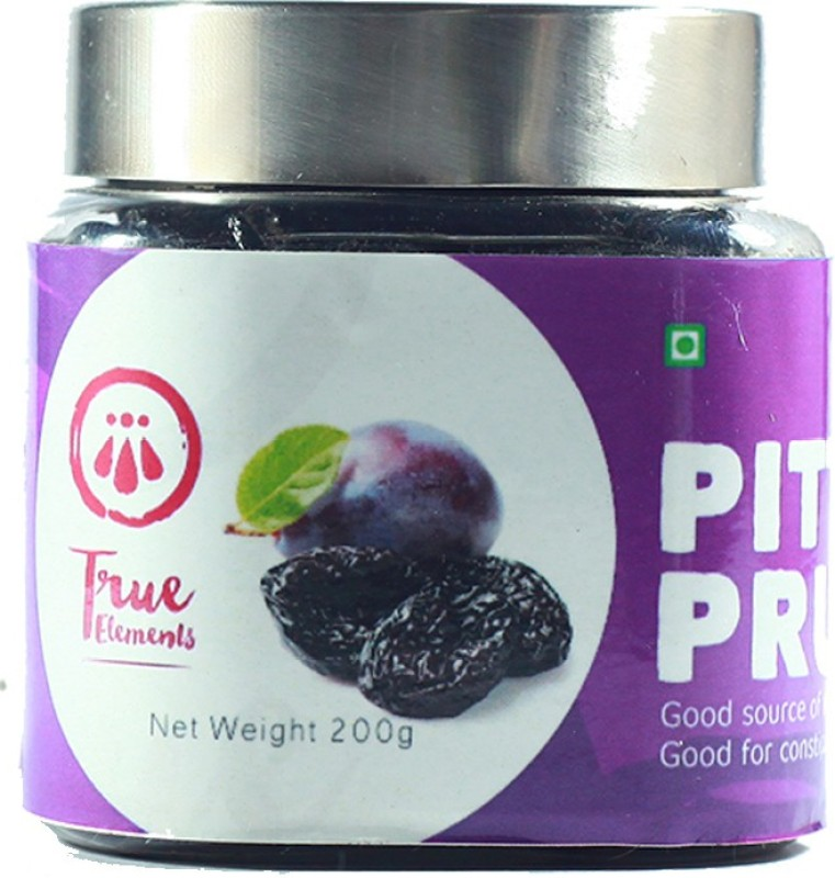 True Elements Staples Prunes(200 g, Plastic Bottle)