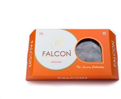 Falcon Fardh Seedless Dates(500 g, Box)