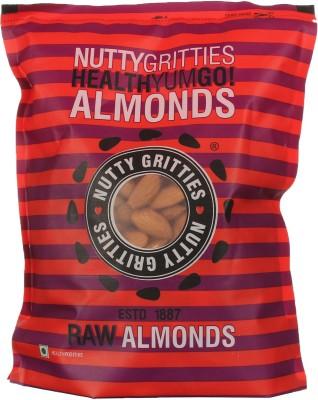 Nutty Gritties Premium Almonds(500 g, Pouch)