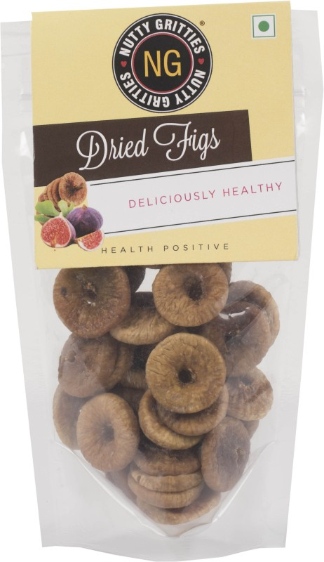 Nutty Gritties Dried Figs(150 g, Pouch)