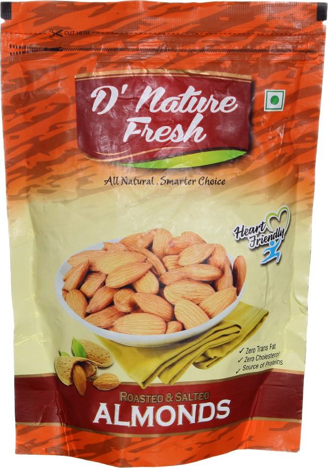 D' Nature Fresh Heart Friendly Almonds