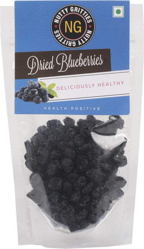 Nutty Gritties 150g Dried Blueberry(150 g, Pouch)