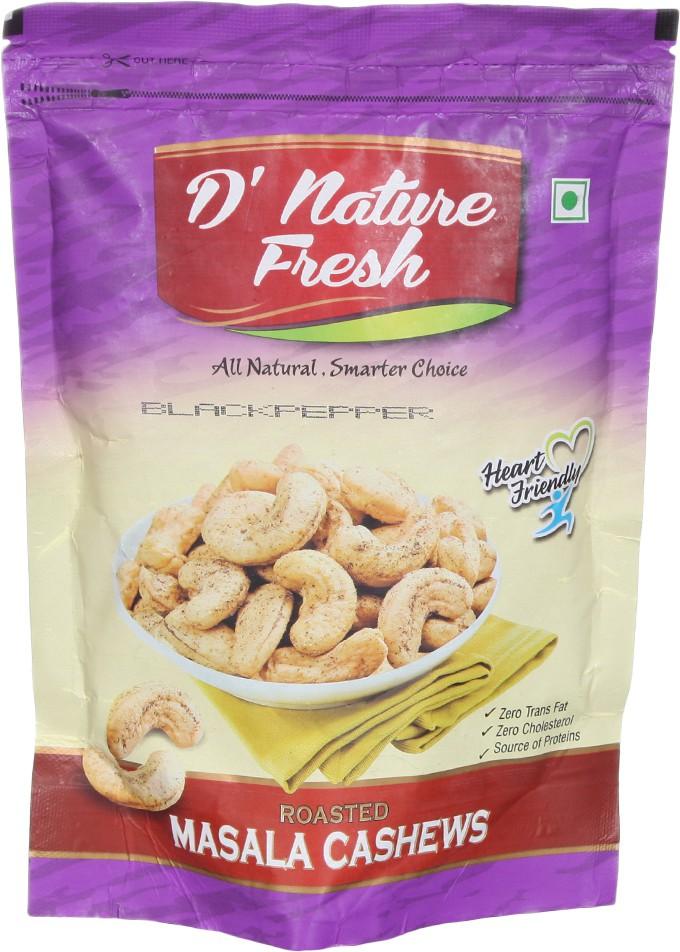 D' Nature Fresh Blackpepper Cashews