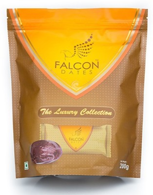 Falcon Fardh Multi-piece Dates(200 g, Pouch)
