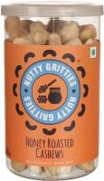 Nutty Gritties Honey Roasted Dry Fruit Cashews(180 g, Mason Jar)